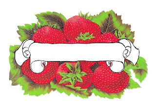 label blank strawberry download image
