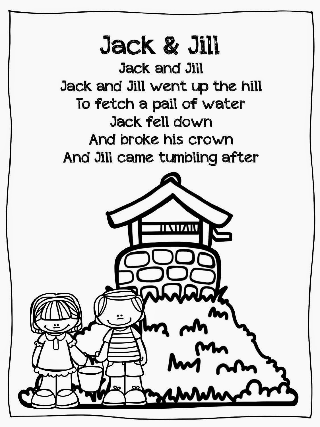 Creating Communicators Jack And Jill Freebie