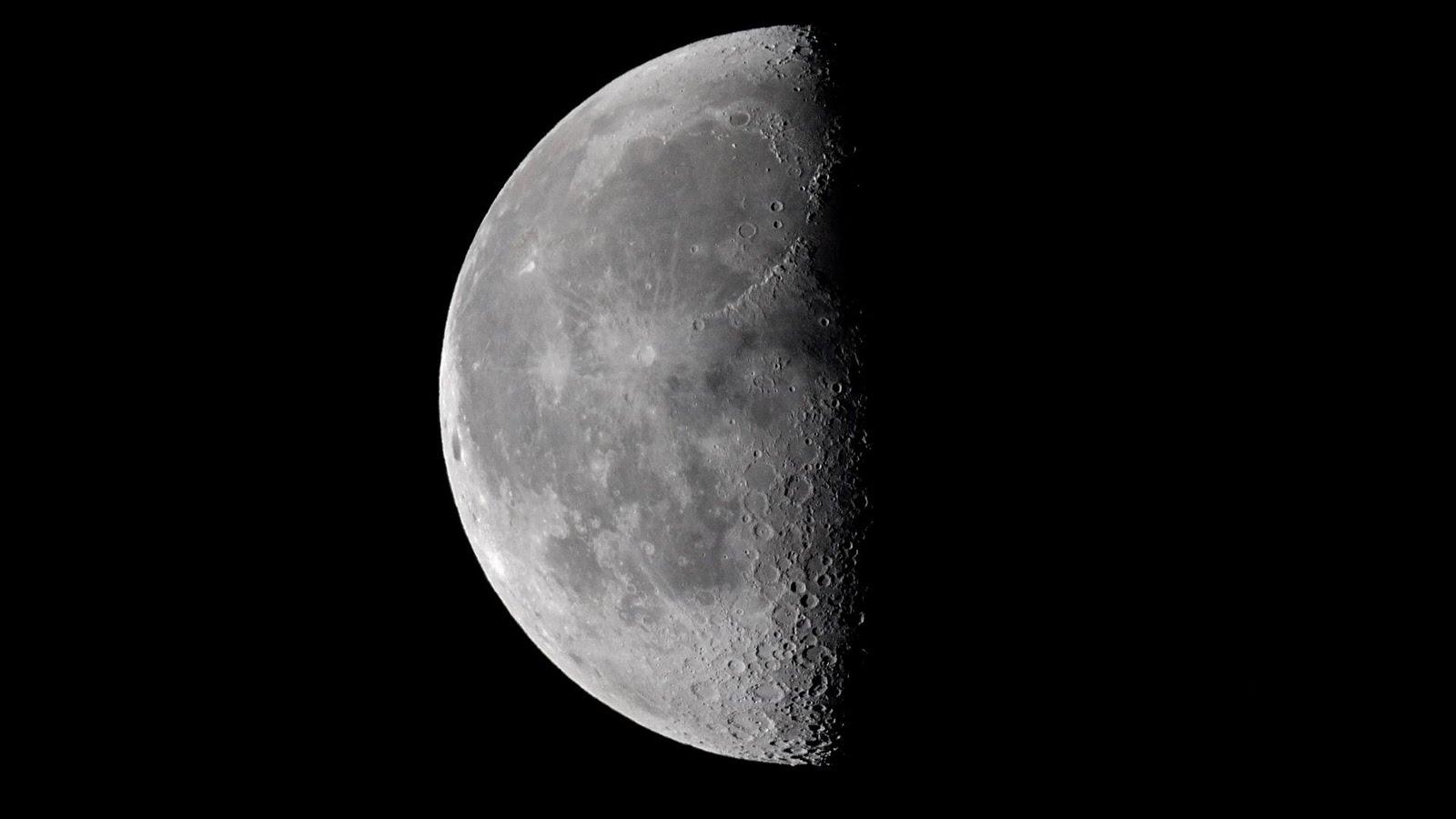 half moon astronomy - photo #6
