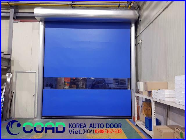 Cửa tự động, cửa cuốn nhanh, cửa cuốn tốc độ cao, cửa đóng mở nhanh, COAD
