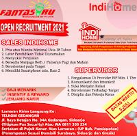 Open Recruitment at Telkom Gedangan Sidoarjo Juni 2021