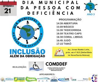 COMDDEF Convida para o evento em Registro-SP neste 21/09