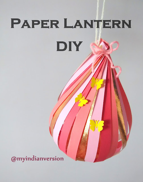 How To Make Paper Lantern