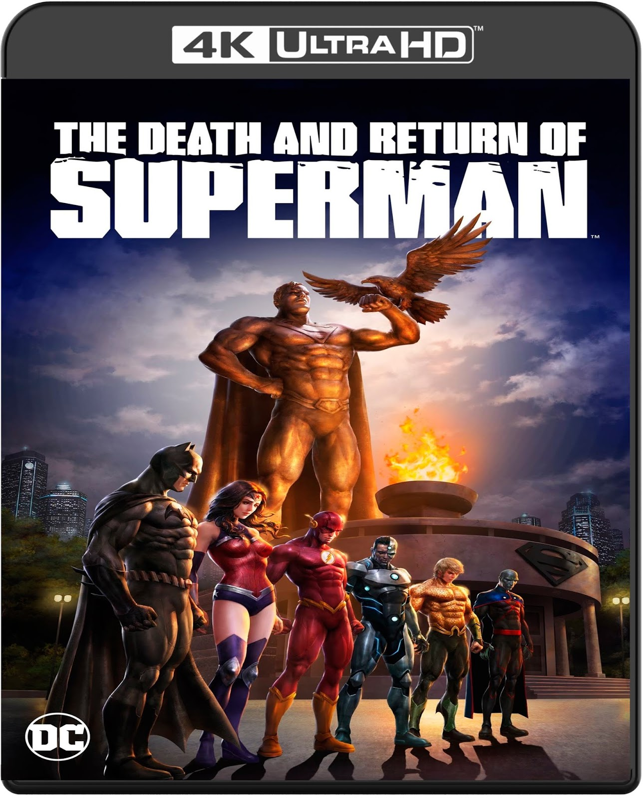 The Death and Return of Superman [2019] [UHD] [2160p] [Latino]