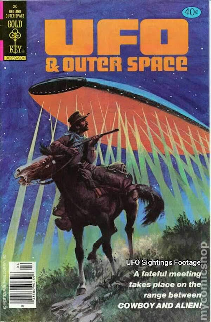 Retro Ufo magazine covers showing amazing artwork of science fiction and Ufo's and Aliens.