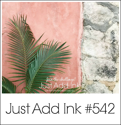 Jo's Stamping Spot - Just Add Ink Challenge #542