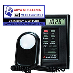 Jual Digital Light Meter AMPROBE LM 80 di Aceh