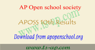 AP open 10th results 2021 manabadi, aposs result @apopenschool.org
