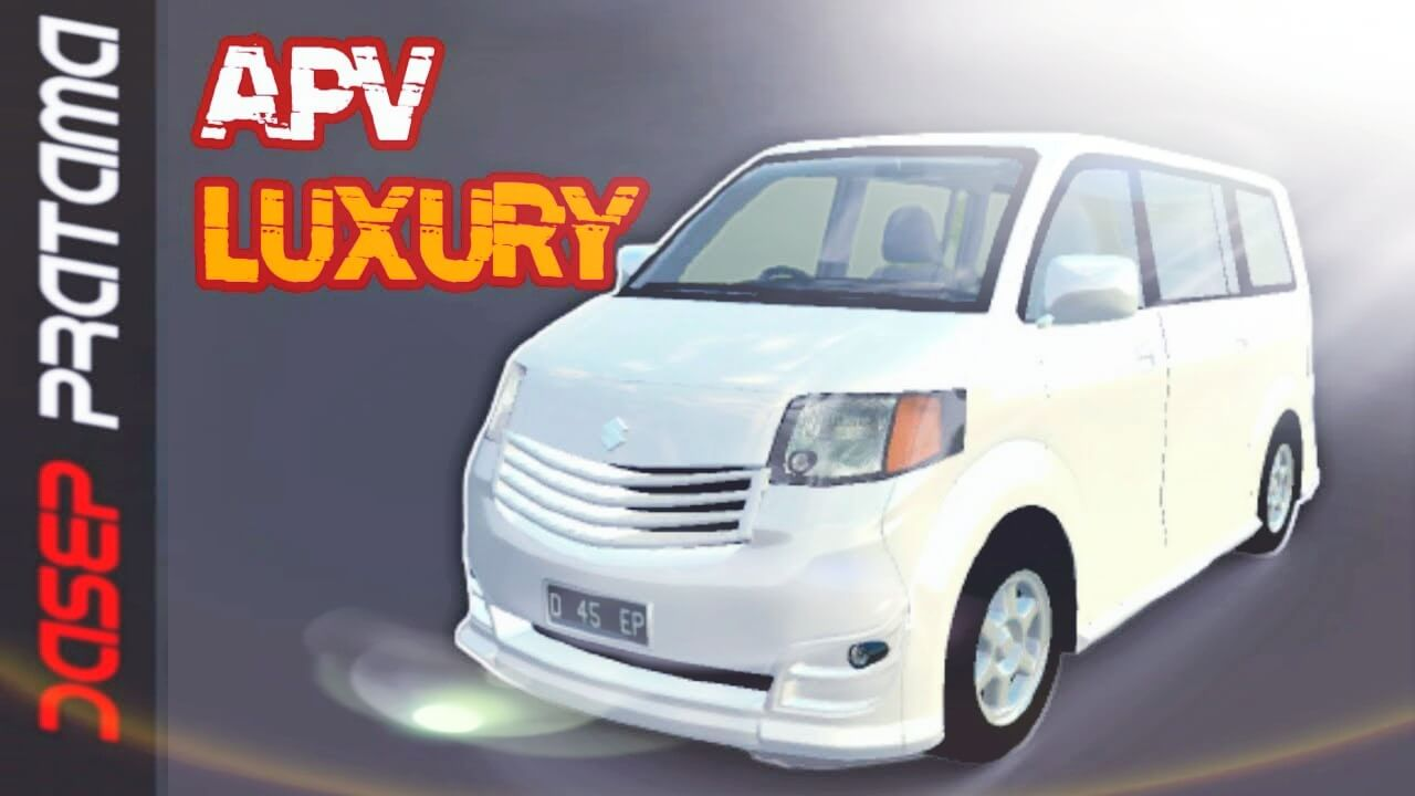 Mod Bussid Suzuki APV Luxury