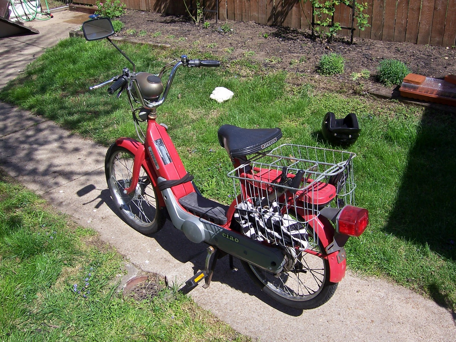 The Man in the Van: 1978 Vespa Ciao NOT For Sale $650 in st louis