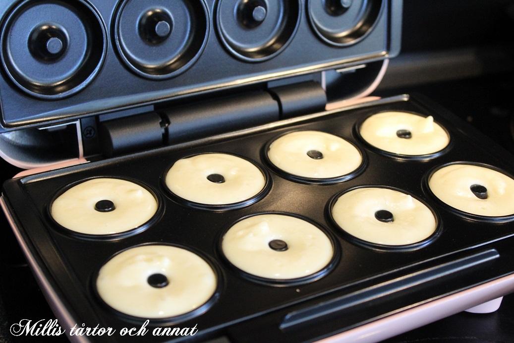 donuts recept till maskin