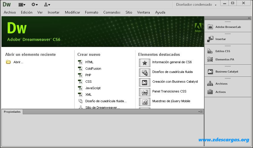 Adobe Dreamweaver CS6 Portable Full Español