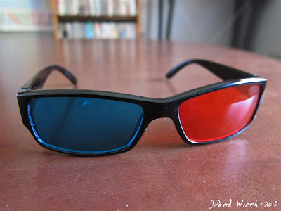3D Glasses Red Blue