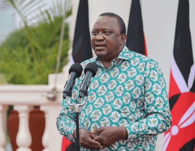 President Uhuru Kenyatta photo