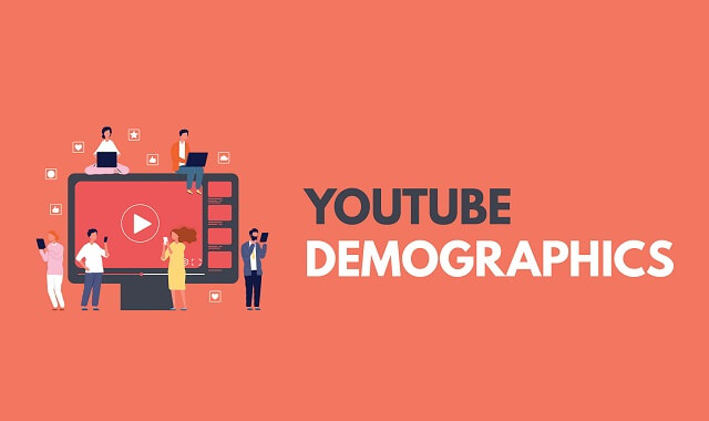 Demographics on Youtube #Infographic