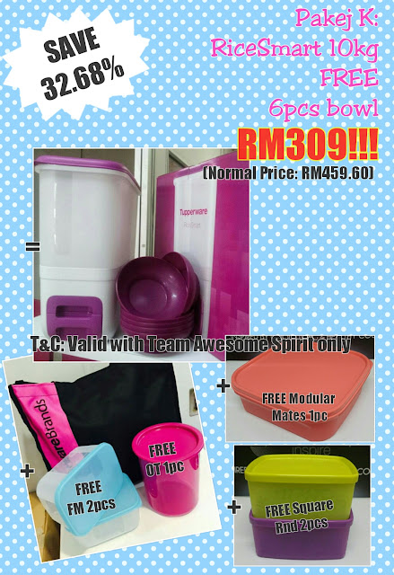 Tupperware Offer RiceSmart 10kg