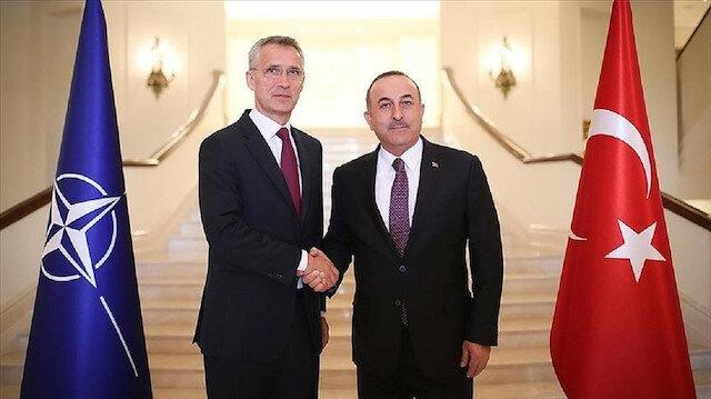 تركيا بالعربي - تشاووش أوغلو وأمين عام الناتو يبحثان تطورات شرق المتوسط