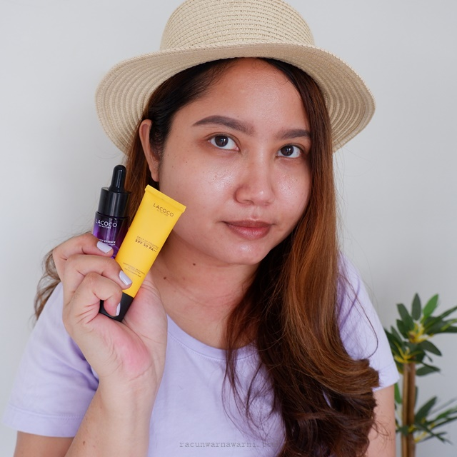 Review Lacoco Dark Spot Essence dan Lacoco Daily UV Counter SPF 50 PA++