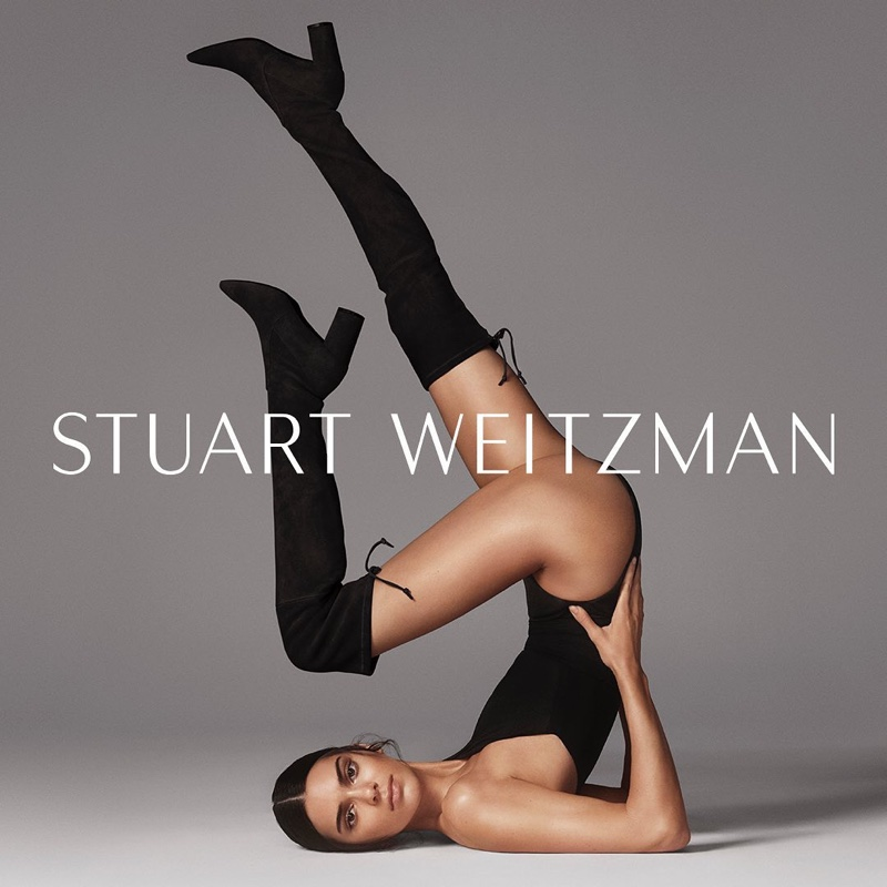 Kendall Jenner stars in Stuart Weitzman fall-winter 2019 campaign