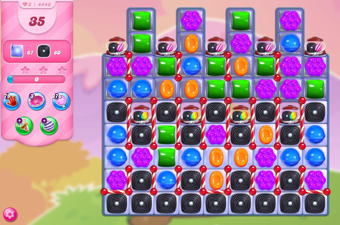 Candy Crush Saga level 4443