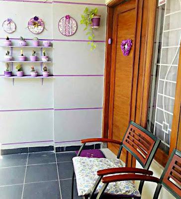 Teras Rumah Minimalis Sederhana Asri dan Indah