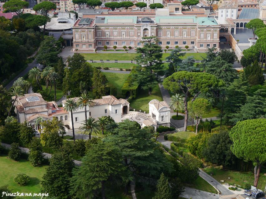 Ogrody w Watykanie