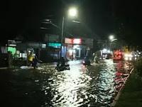 Banjir Rendam Tiga Kecamatan di Bukittinggi Sumbar