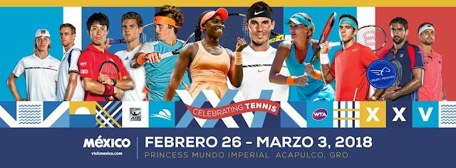 abierto mexicano de tenis 2018