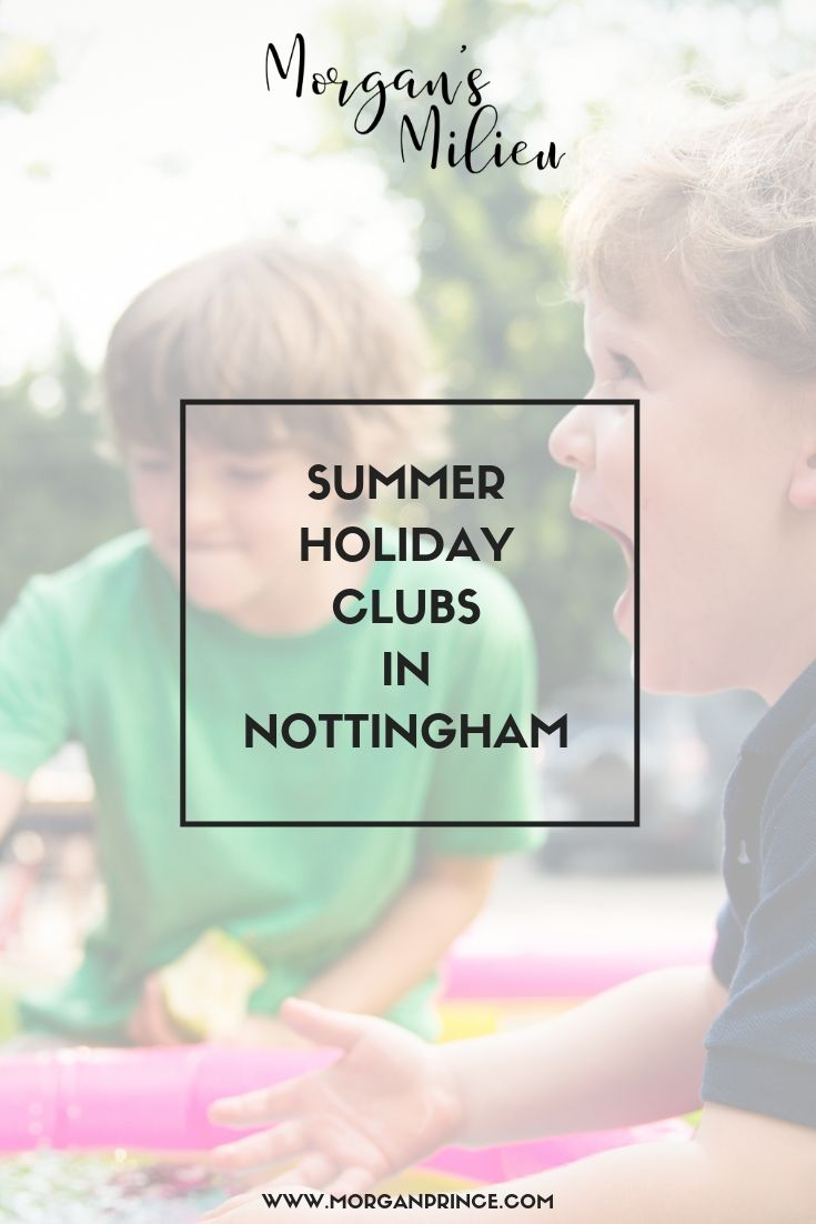 Summer Holiday Clubs In Nottingham | There are clubs around the county where your kids could have fun through the summer!