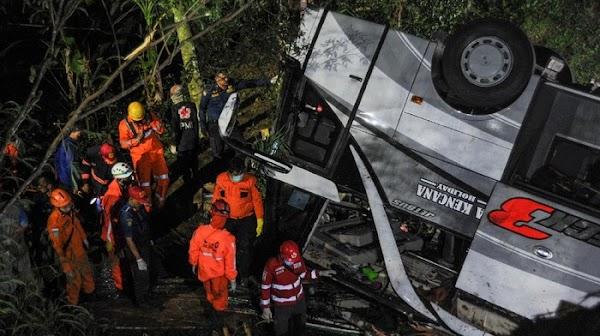 Ini Daftar 27 Korban Tewas Kecelakaan Maut di Sumedang