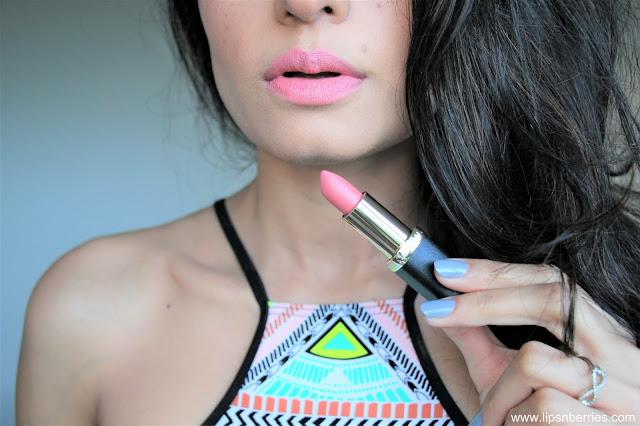 Loreal paris color riche matte addiction lipstick blush in a rush