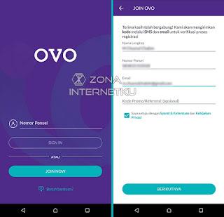 Cara Daftar Membuat Akun OVO Dengan Mudah 2
