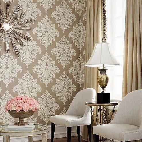 Wallpaper Dinding Ruang Tamu Mewah Terbaru