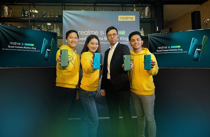 Realme 5i Launched and Priced in The Philippines