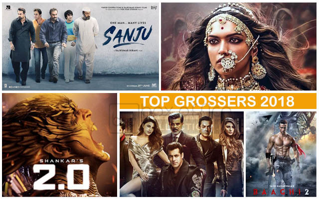5 grossing Indian movies of 2018
