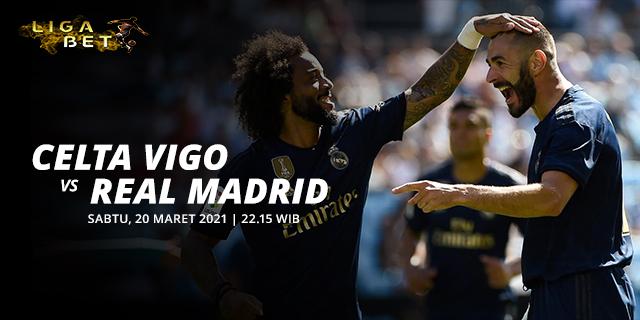PREDIKSI PARLAY CELTA VIGO VS REAL MADRID