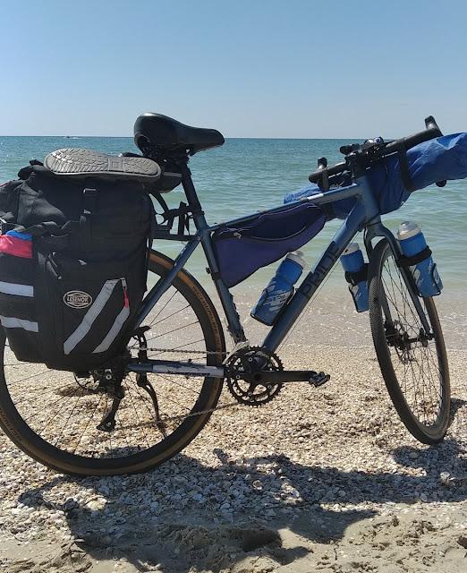 Железный порт на велосипеде