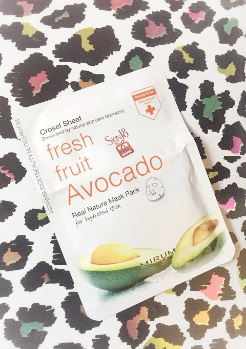 Mirum Fresh Fruit Avacado Real Natural Mask Ft. Skin18.com
