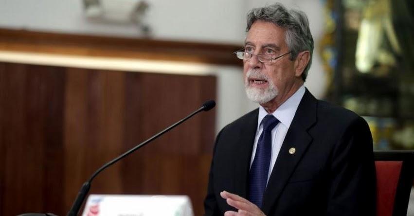 Presidente Sagasti descarta cambios en gabinete ministerial hasta el final del Gobierno