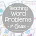 Math Tip Monday- Ideas for Teaching Word Problems