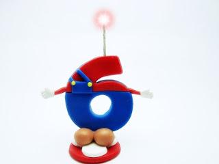 Vela de aniversário Super Mário