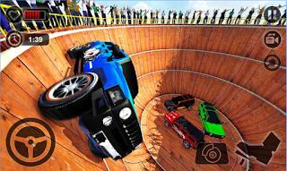 Download Well of Death Prado Stunt Ride Apk