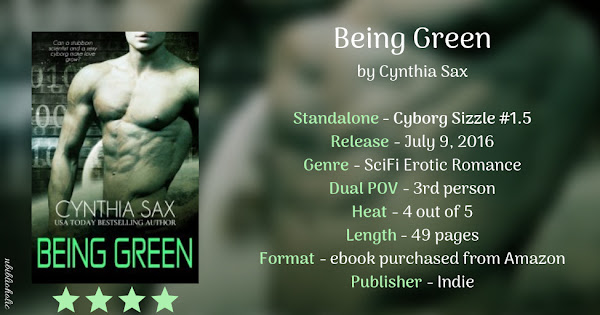 BEING GREEN by Cynthia Sax