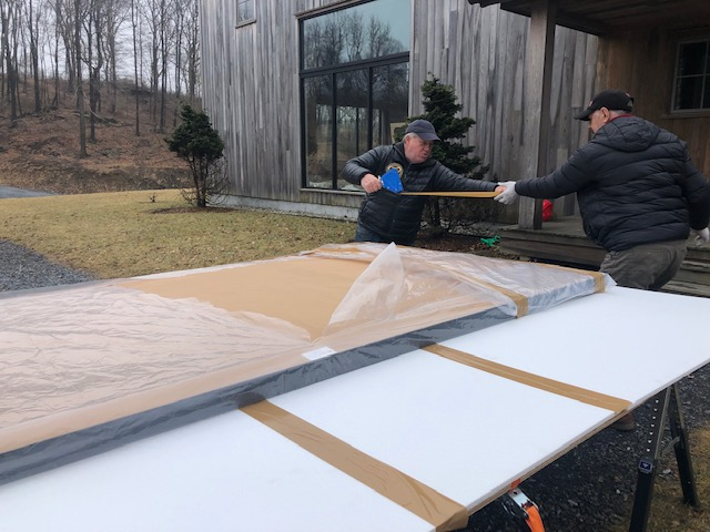 Packing a Very Large Painting