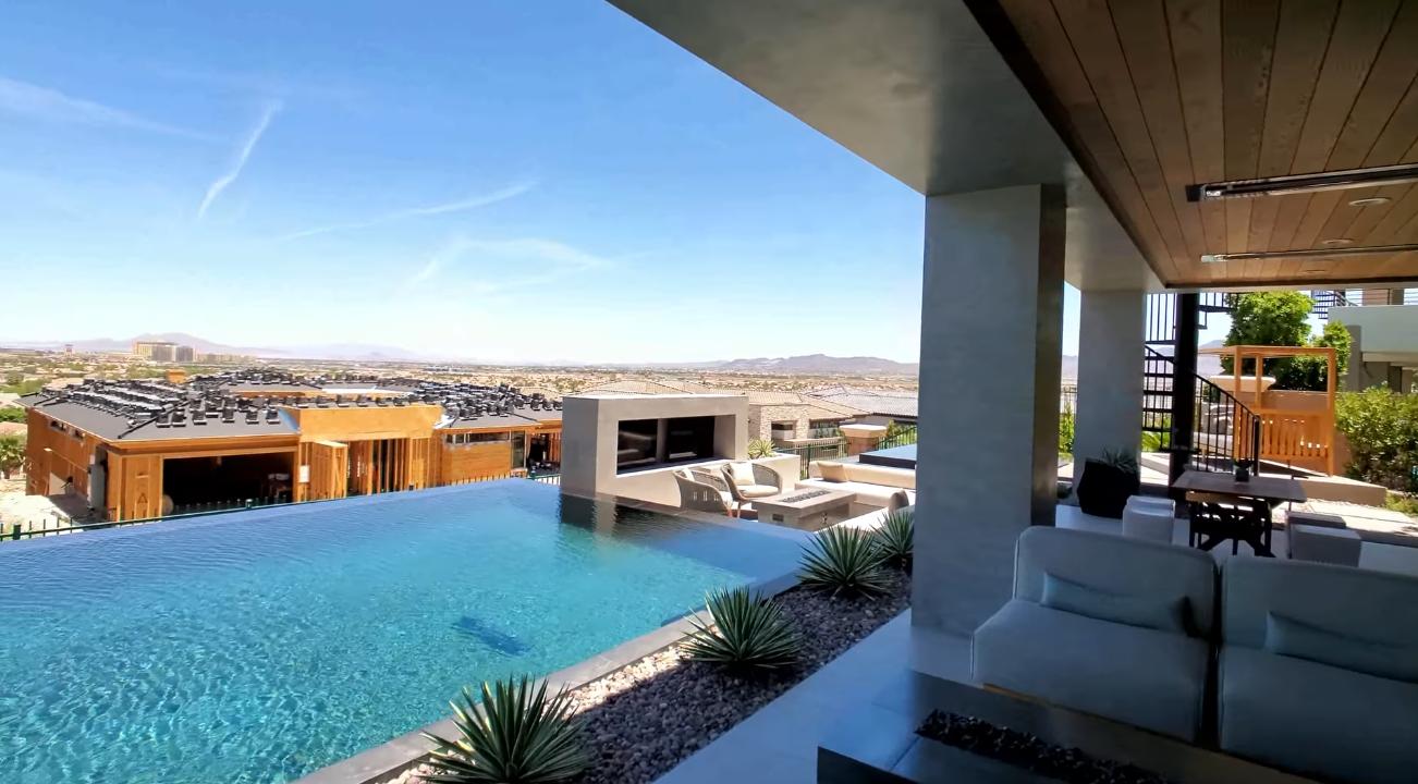 49 Photos vs. Exotic Modern Mansion Tour in Las Vegas 2020 - Luxury Home & Interior Design Tour
