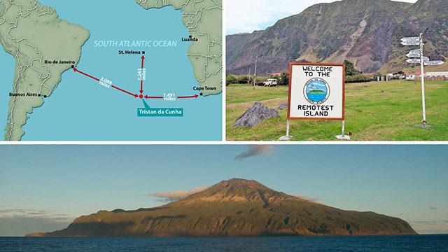 Warga Tristan da Cunha