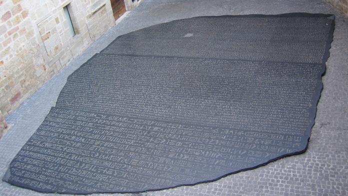 La pietra nera di Rosetta