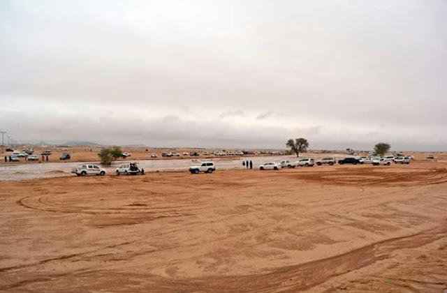 Jabal Uhud Mengeluarkan Air