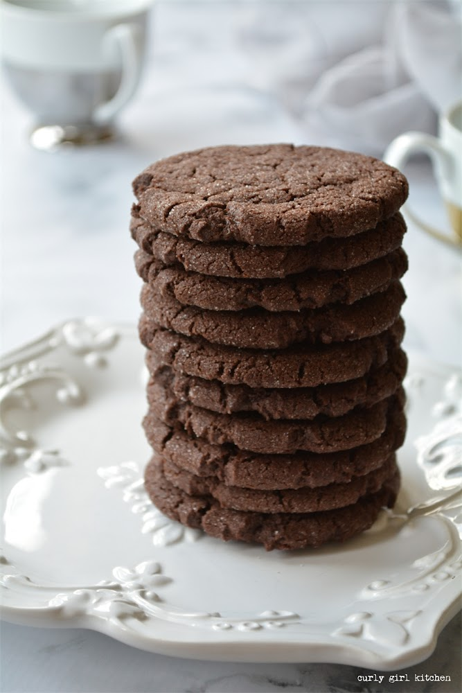 Brown Butter Chocolate Cookies, Chocolate Cookies, Christmas Cookies