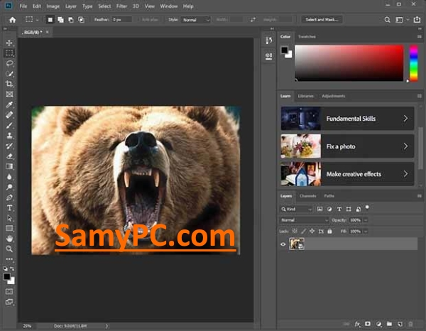 Adobe Photoshop CC Free Download Full Latest Version